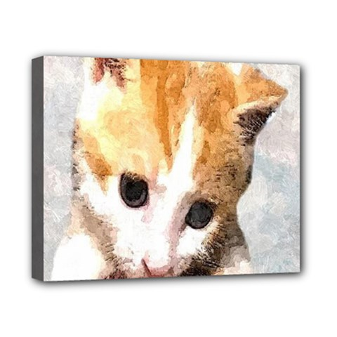Sweet Face ;) Canvas 10  X 8  (framed)