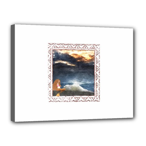 Stormy Twilight [Framed] Canvas 16  x 12  (Framed)
