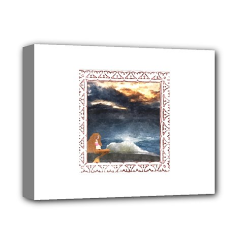 Stormy Twilight [Framed] Deluxe Canvas 14  x 11  (Framed)