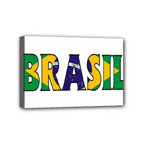 Brazil Mini Canvas 6  x 4  (Framed)