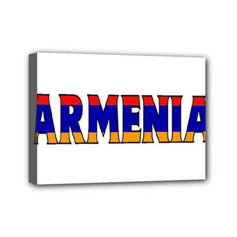 Armenia Mini Canvas 7  x 5  (Framed)