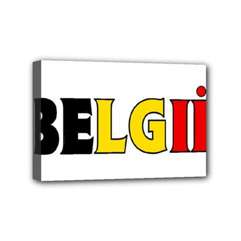 Belgium Mini Canvas 6  x 4  (Framed)