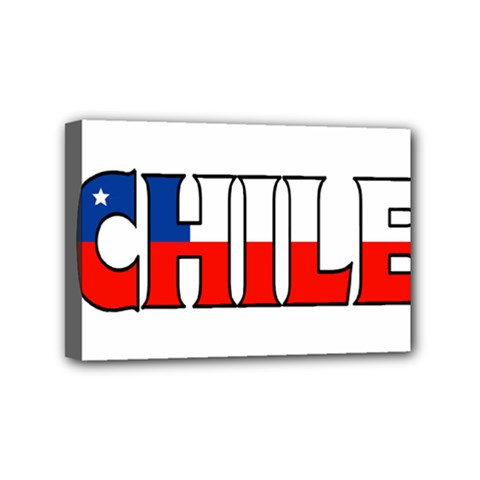 Chile Mini Canvas 6  x 4  (Framed)