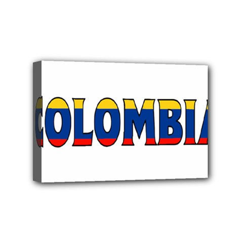 Colombia Mini Canvas 6  x 4  (Framed)