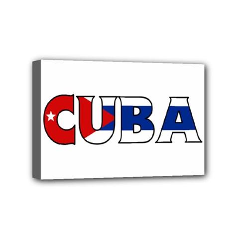 Cuba Mini Canvas 6  x 4  (Framed)