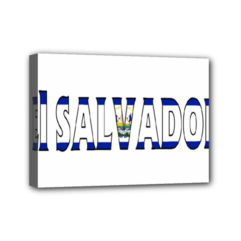 El Salvador Mini Canvas 7  x 5  (Framed)