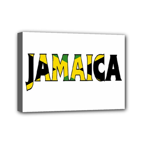 Jamaica Mini Canvas 7  X 5  (framed)