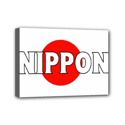 Japan(nippon) Mini Canvas 7  x 5  (Framed)