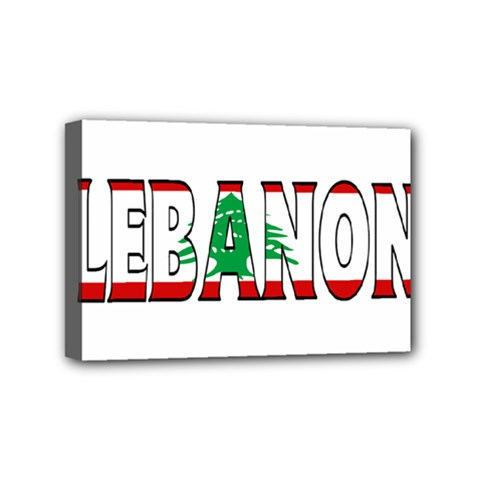 Lebanon Mini Canvas 6  x 4  (Framed)
