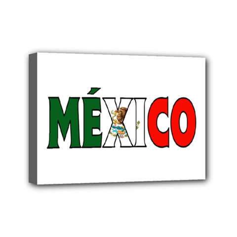 Mexico (n) Mini Canvas 7  x 5  (Framed)