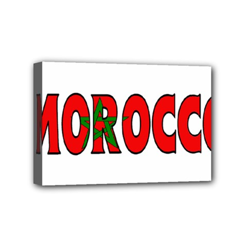 Morocco Mini Canvas 6  x 4  (Framed)