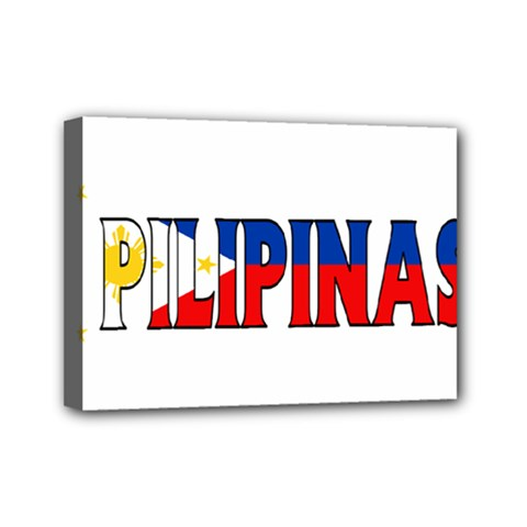 Phillipines2 Mini Canvas 7  x 5  (Framed)
