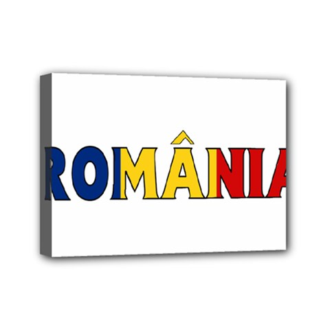 Romania Mini Canvas 7  x 5  (Framed)