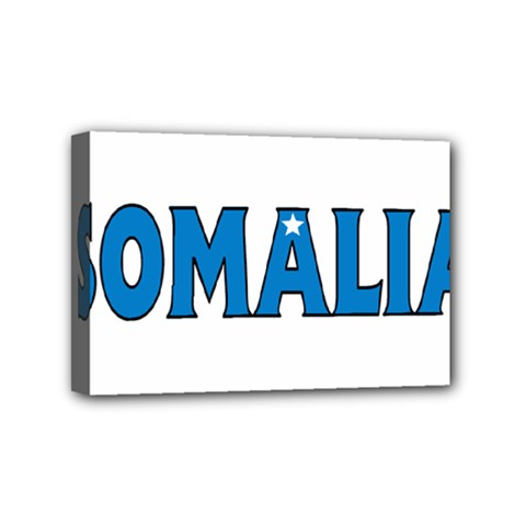 Somalia Mini Canvas 6  x 4  (Framed)