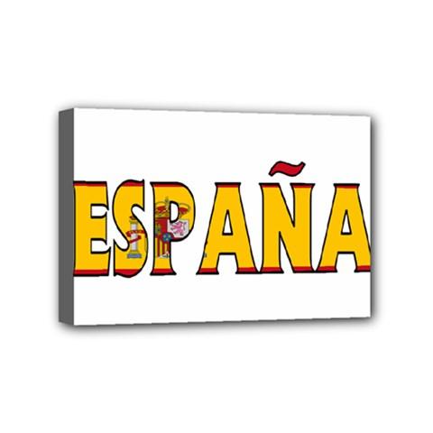 Spain Mini Canvas 6  x 4  (Framed)
