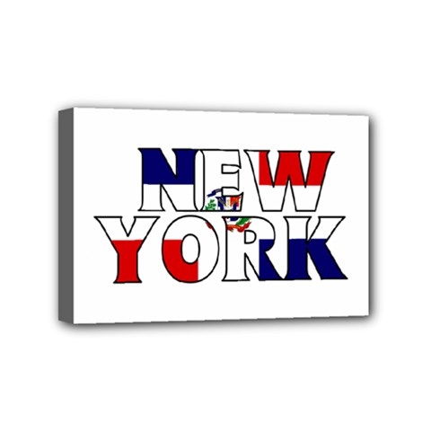 New York Dr Mini Canvas 6  X 4  (framed)
