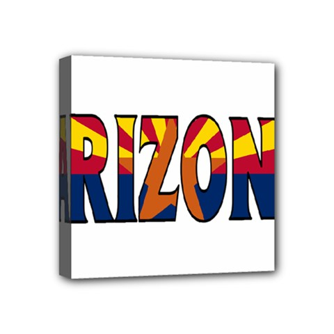 Arizona Mini Canvas 4  x 4  (Framed)
