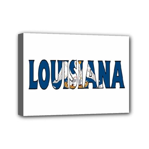 Louisiana Mini Canvas 7  X 5  (framed)