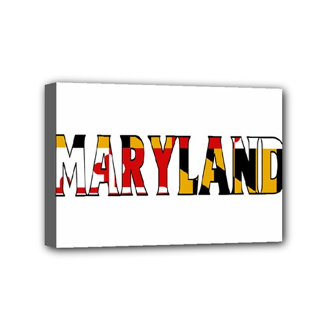 Maryland Mini Canvas 6  X 4  (framed)
