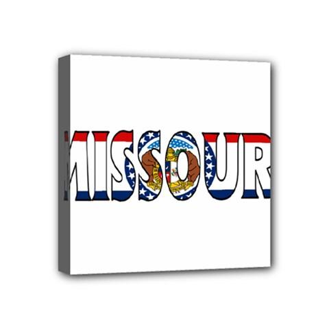 Missouri Mini Canvas 4  x 4  (Framed)