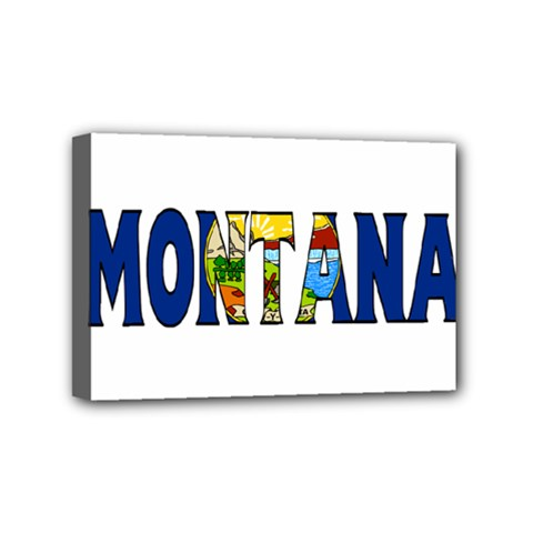 Montana Mini Canvas 6  X 4  (framed)