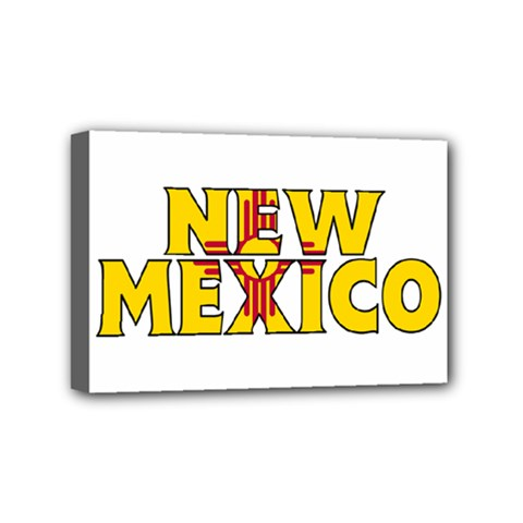 New Mexico Mini Canvas 6  x 4  (Framed)