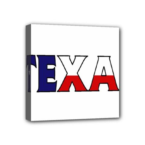 Texas Mini Canvas 4  X 4  (framed)