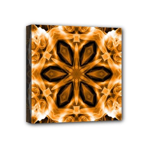 Smoke Art (12) Mini Canvas 4  X 4  (framed)