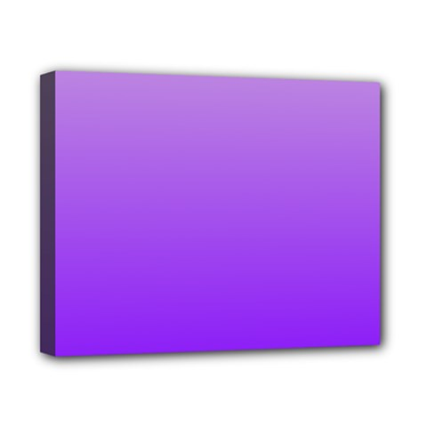 Wisteria To Violet Gradient Canvas 10  X 8  (framed)