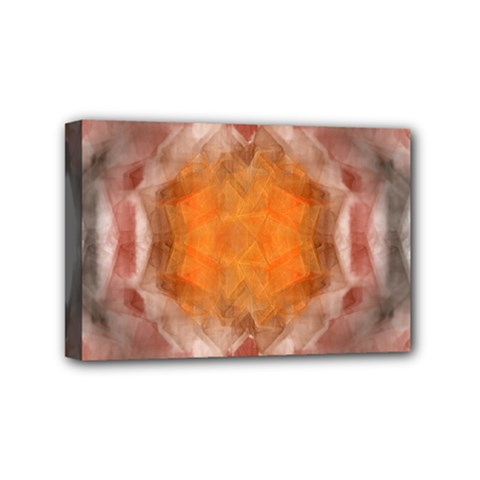 Seamless Background Fractal Mini Canvas 6  x 4  (Framed)