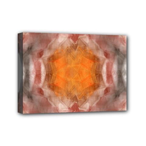 Seamless Background Fractal Mini Canvas 7  x 5  (Framed)