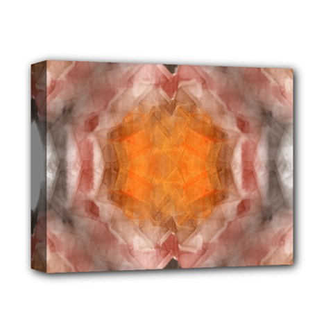 Seamless Background Fractal Deluxe Canvas 14  X 11  (framed)