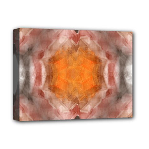 Seamless Background Fractal Deluxe Canvas 16  X 12  (framed)