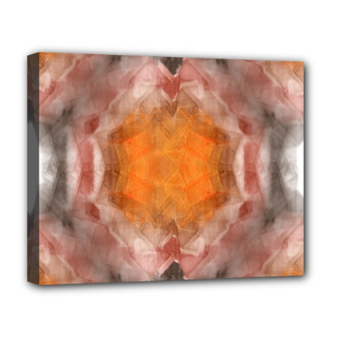 Seamless Background Fractal Deluxe Canvas 20  x 16  (Framed)