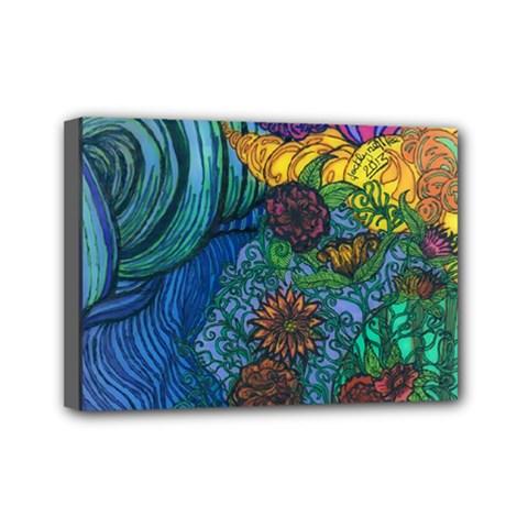 Beauty  Mini Canvas 7  x 5  (Framed)
