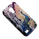 Damask French Scripts  Purple Peacock Floral Paris Decor Samsung Galaxy S4 Mini Hardshell Case  View5