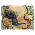 Victorian Swirls Peacock Floral Paris Decor Apple iPad 3/4 Hardshell Case (Compatible with Smart Cover) View1