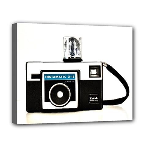 Kodak (3)c Deluxe Canvas 20  x 16  (Framed)