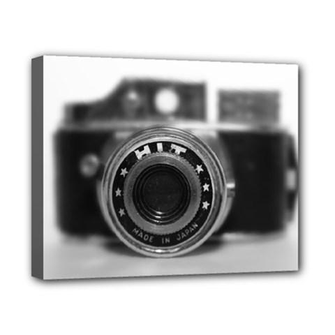 Hit Camera (2) Canvas 10  X 8  (framed)
