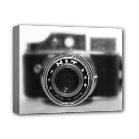 Hit Camera (2) Deluxe Canvas 14  X 11  (framed)
