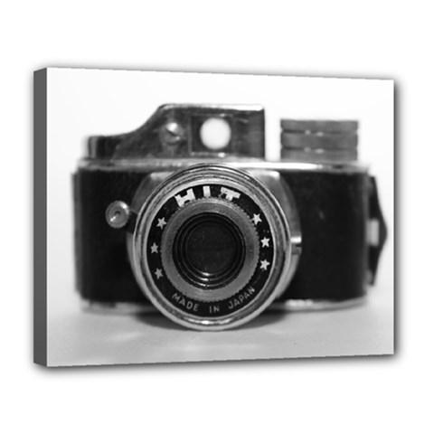 Hit Camera (3) Canvas 14  x 11  (Framed)