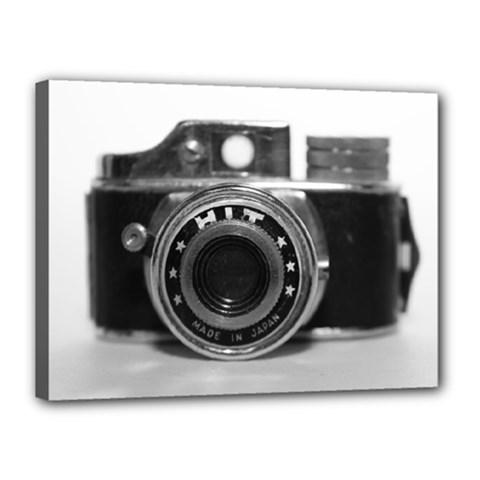 Hit Camera (3) Canvas 16  X 12  (framed)