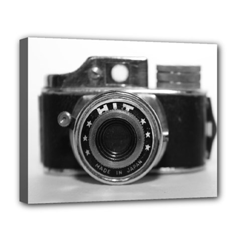 Hit Camera (3) Deluxe Canvas 20  x 16  (Framed)