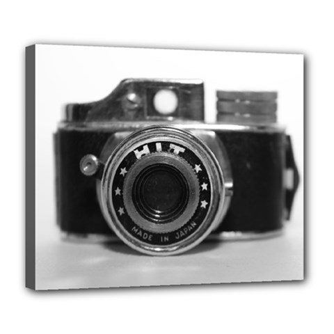 Hit Camera (3) Deluxe Canvas 24  x 20  (Framed)