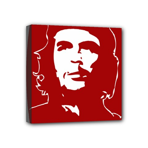 Chce Guevara, Che Chick Mini Canvas 4  x 4  (Framed)