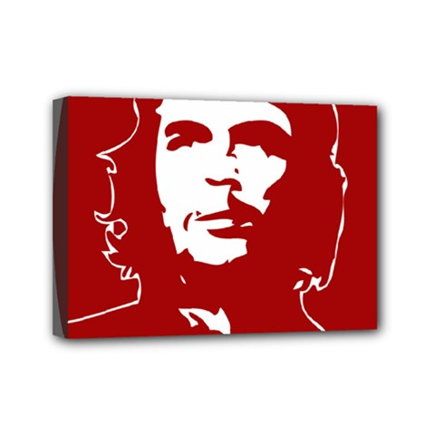 Chce Guevara, Che Chick Mini Canvas 7  x 5  (Framed)