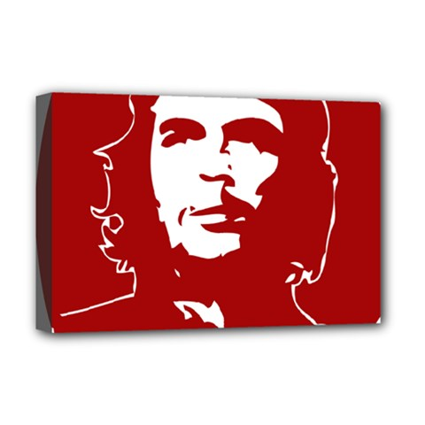 Chce Guevara, Che Chick Deluxe Canvas 18  x 12  (Framed)