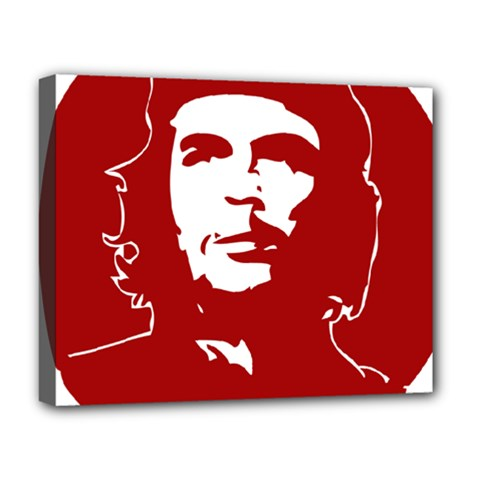 Chce Guevara, Che Chick Deluxe Canvas 20  x 16  (Framed)