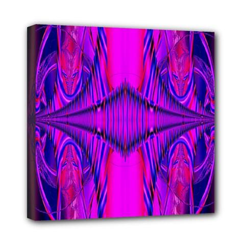 Modern Art Mini Canvas 8  x 8  (Framed)