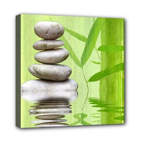 Balance Mini Canvas 8  x 8  (Framed)